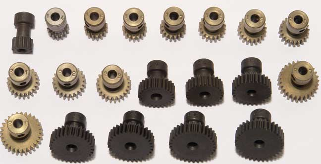 Pinion 48P, Hardened - 17 teeth