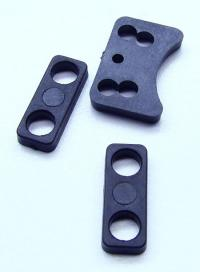 Molded Servo saver brace and spacers