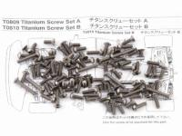Titanium Screw Set A MTX4
