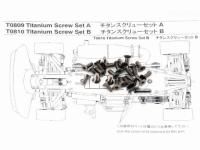 Titanium Screw Set B MTX4