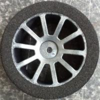 Matrix 40 1/10 front on Carbon AIR wheel