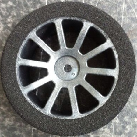 "Matrix 40 1/10 rear on Carbon AIR wheel ""ENS PRE CUT"""