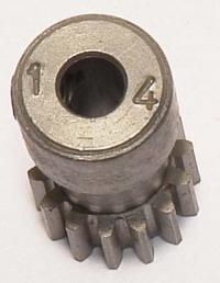 Pinion 48P, Hardened - 14 teeth