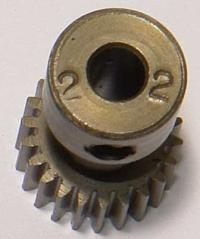 Pinion 64P, Hardened - 22 teeth