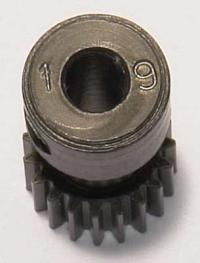 Pinion 64P, Aluminium - 19 Teeth