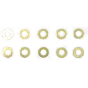 Motor shims, Brass (0,3)