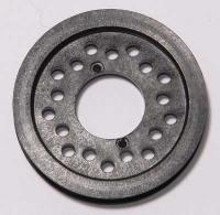 Pulley 36 teeth for duraluminium spool / front 1-way