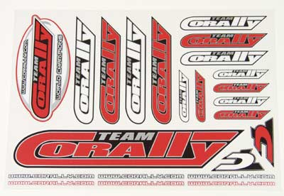 CORALLY Sticker Sheets (2 X), New Design