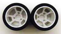 1/12 CRC Pro Cut HR 38 Rears - Orange *Flex Rim*