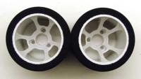 1/12 CRC Pro Cut HR 38 Rears - Greene *Flex Rim*