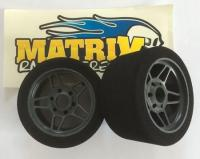 "Matrix 32 1/8 front on Carbon FIVE wheel ""ENS PRE TRUED"""