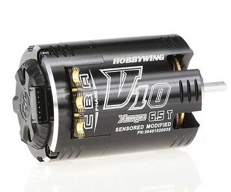 Hobbywing XERUN V10 Competition Motor 4.5t- Black