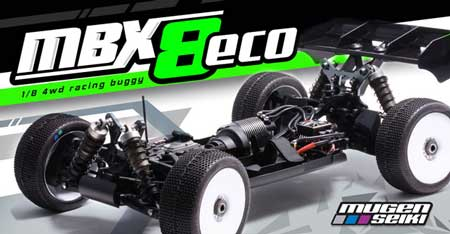 MBX8 ECO 4WD Electric Racing Buggy