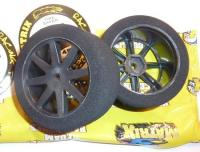 Matrix 35 1/10 front on Carbon Kyosho wheel