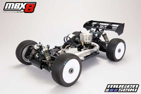 MBX8 4WD Nitro Racing Buggy