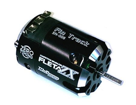 Muchmore Fleta ZX 21.5T Brushless Motor Type-W Fixed Timing Version - FinTrack