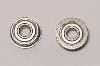 Ball Bearings, Metal Shielded – 4 x 11 mm Flanged – For 08 Differential (1 pair)