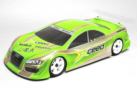Xceed Body 1/10 1/10 AUDI A5 V2 200MM EFRA 2046